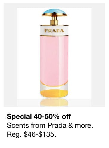 40-50% Off Scents from Prada and More