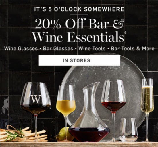 Summer In Parker Offers Free Movies Wine Walks: Williams-Sonoma In Columbia, MD