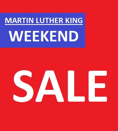 Martin Luther King Weekend Sale from Tradehome Shoes