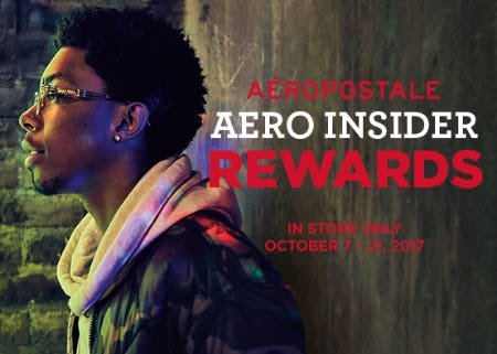 Aero Insider Rewards