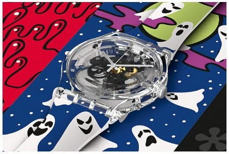 Chills and Thrills for your Wrist from Swatch