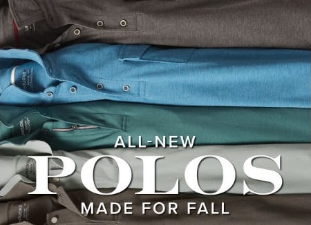 New Polos for Fall from UNTUCKit