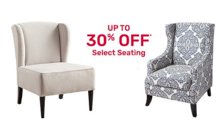 Up to 30% Off Select Seating from Pier 1 Imports
