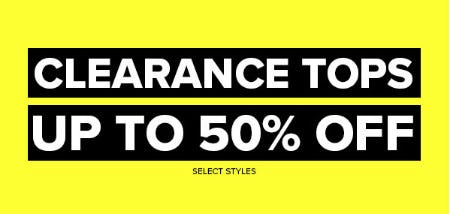 Up to 50% Off Clearance Tops from Rainbow