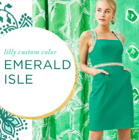 Custom Color Crush: Emerald Isle from Lilly Pulitzer