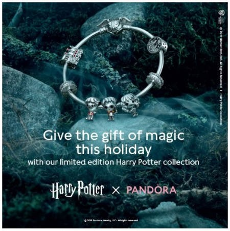 Limited Edition: Harry Potter x Pandora Jewelry from Ben Bridge Jeweler
