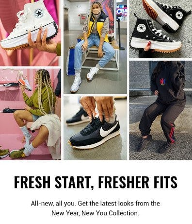 Fresh Start, Fresher Fits from Champs Sports
