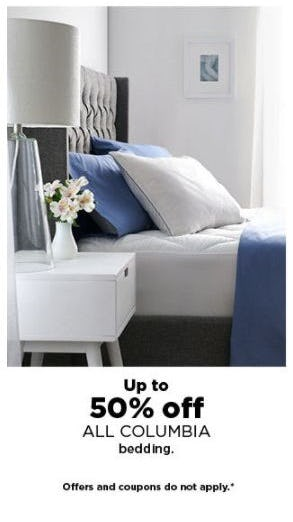 Up to 50% Off All Columbia Bedding from Kohl's