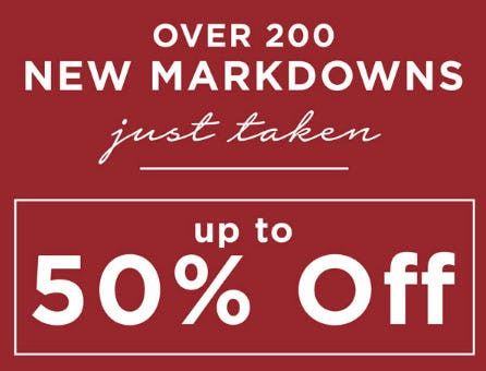 Up to 50% Off New Markdowns from Kirkland's Home