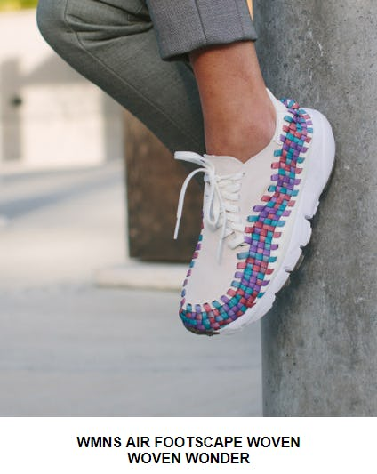 Women's Nike Air Footscape Woven