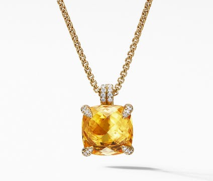 Radiant Citrine Jewelry from David Yurman