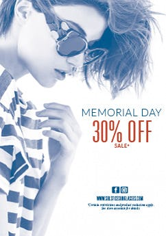 Solstice Sunglasses Memorial Day Promo from Solstice Sunglass Boutique