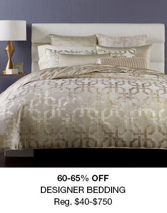 60-65% Off Designer Bedding from macy's