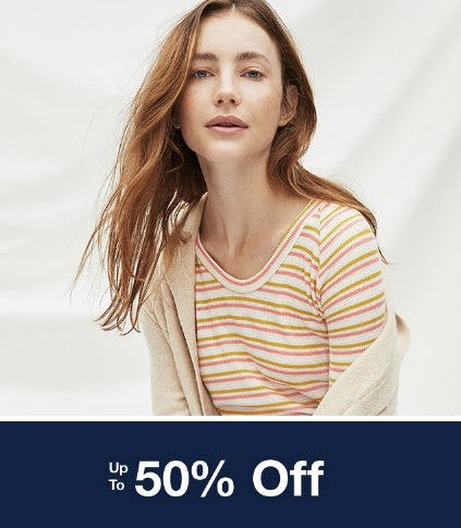 Up to 50% Off Everything from Gap