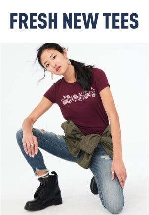 Fresh New Tees from Aéropostale