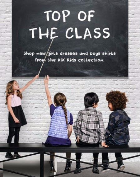 Shop Kids Back-to-School Style