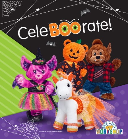 Calling All Boos and Ghouls: CeleBOOrate Halloween at Build-A-Bear Workshop!®