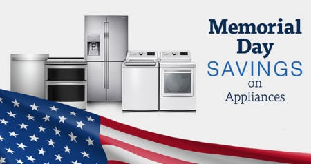 Memorial Day Savings on Appliances from Costco