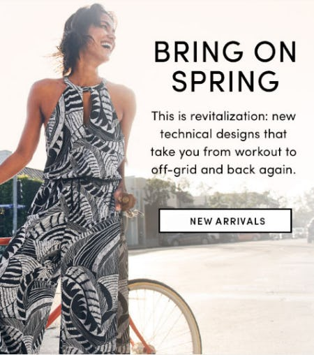 Bring on Spring from Athleta