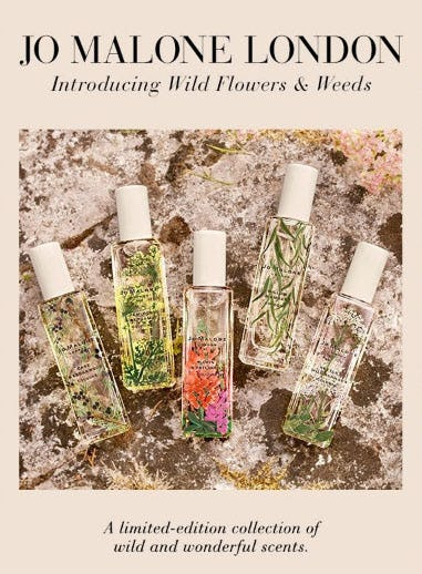 Introducing Wild Flowers & Weeds from Saks Fifth Avenue