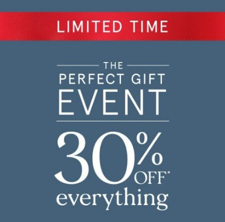 30% Off Everything from Zales Jewelers