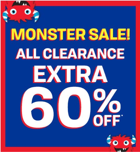 Extra 60% Off All Clearance from The Children's Place Gymboree