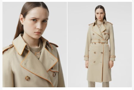 New in Outerwear from Burberry