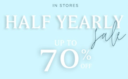 Up to 70% Off Half Yearly Sale from PAPYRUS