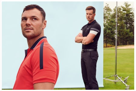 Introducing Premium Golf Collection from Hugo Boss