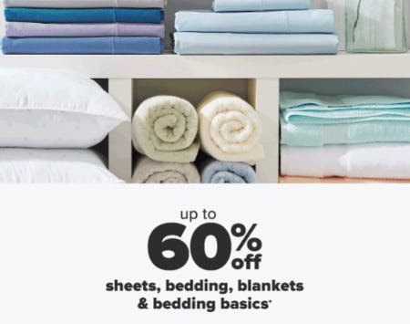 Up to 60% Off Sheets, Bedding & More from Belk