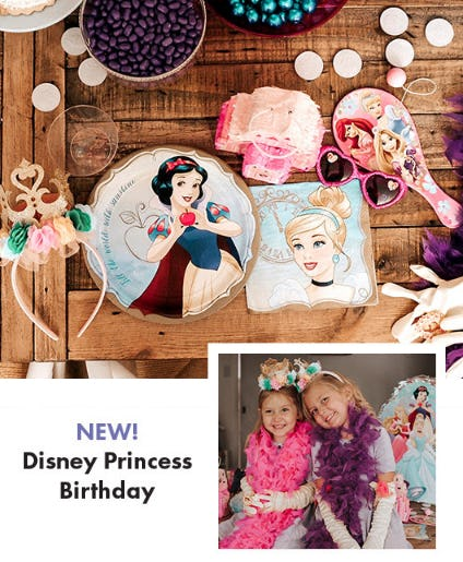 New Disney Princess Birthday Theme from Party City