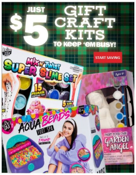 Just $5 Gift Craft Kits from Five Below