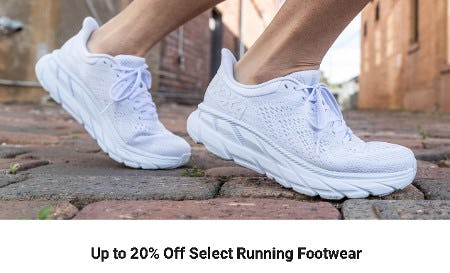 Up to 20% Off Select Running Footwear from Dick's Sporting Goods