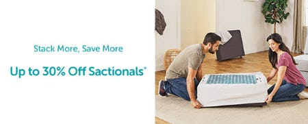 Stack More, Save More Up to 30% Off on Sactionals from Lovesac Alternative Furniture