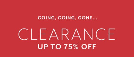 Up to 75% Off Clearance from Sur La Table