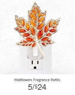 Wallflowers Fragrance Refills 5 for $24