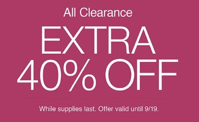 Extra 40% Off All Clearance from Charming Charlie