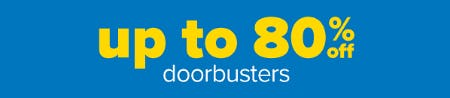 Up to 80% Off Doorbusters from Belk