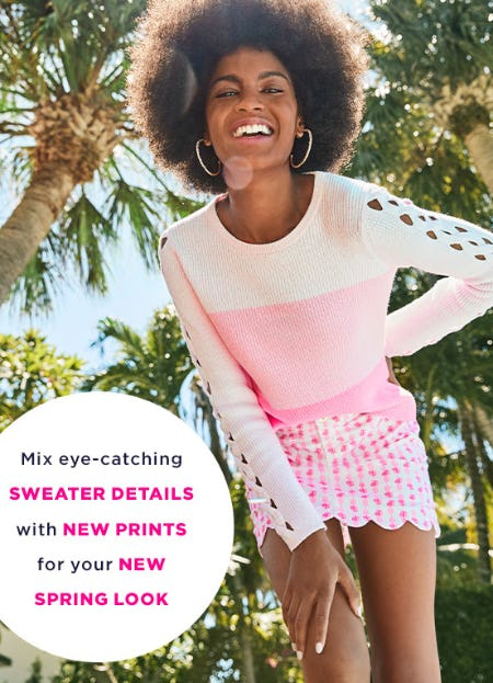 Sensational Spring Sweaters from Lilly Pulitzer