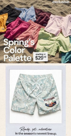 Meet the New Swim Trunks from Pacific Sunwear