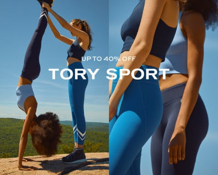 Tory Sport Up to 40% Off from Tory Burch