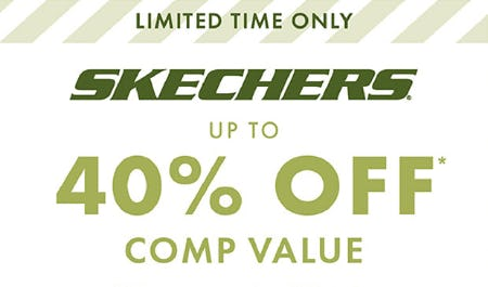 Up to 40% Off on Skechers from DSW Shoes