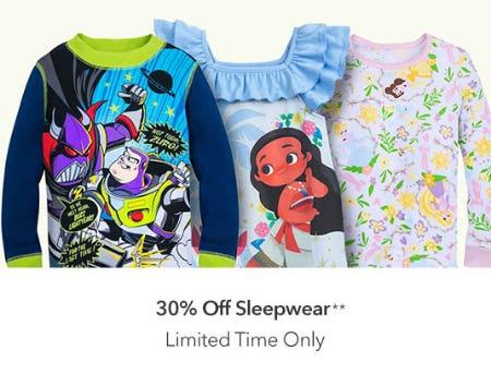 3c078cd4c3 Sale at Disney Store. 30% Off Sleepwear