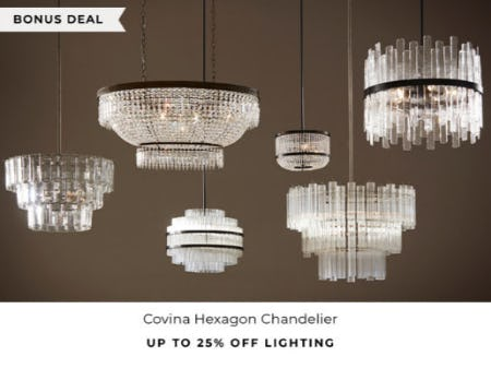 Up to 25% Off Lighting