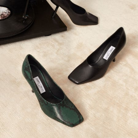 Discover Our Square-Toe Shape from Jimmy Choo