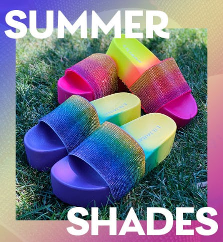 Summer Shades from Shiekh Shoes