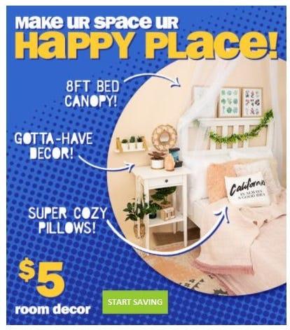 $5 Room Decor