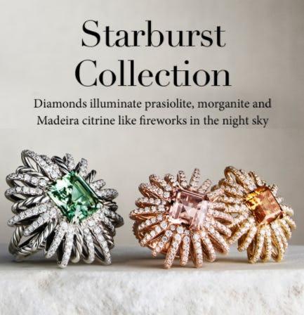 Starburst Collection from David Yurman