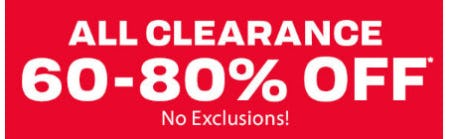 All Clearance 60-80% Off from The Children's Place Gymboree