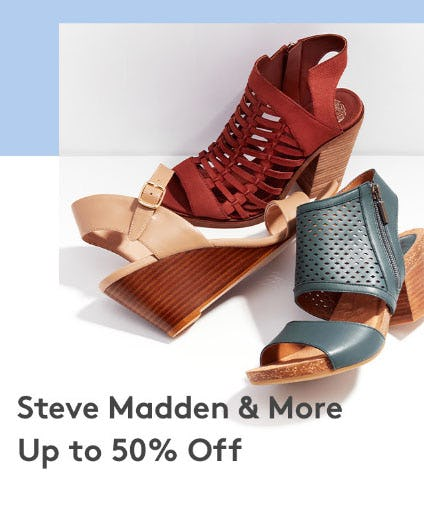Up to 50% Off Steve Madden & More from Nordstrom Rack